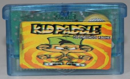 """Картридж на GBA """"KID PADDLE"""""""