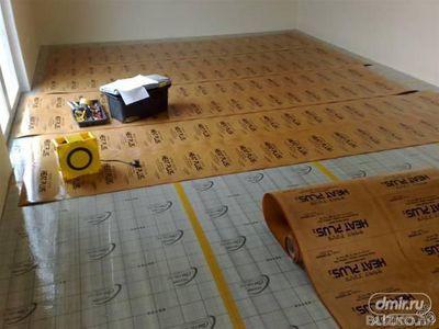 """Монтаж теплої підлоги під """"важкі"""" покриття (керамічна плитка, керамогранітна плитка та ін)"""