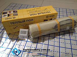 Электрический мат (комфортный обогрев), 0,8 м2 (Акционная цена с цифровым регулятором)