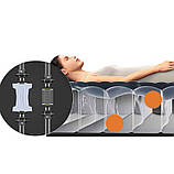 Надувной матрас Intex 64765 (152 х 203 х 25 см) с двумя подушками, ручным насосом, фото 3