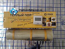 Чешский мат In-term под заливку, 1,7 м2 (Супер цена с цифровым регулятором)