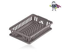 Сушилка для посуды с поддоном Heidrun Kitchen Mix 38*26*9см (HDR-2201)