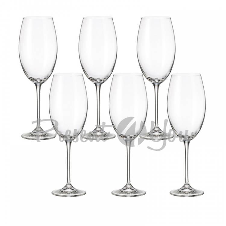 Фужеры для вина 6шт «FULICA» Bohemia, 510 мл (199-1222)
