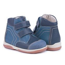 Memo Karat Синие - Детские ортопедические ботинки 24