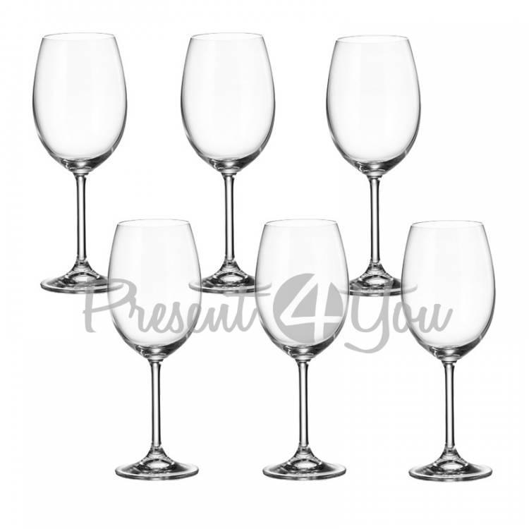 Фужеры для вина 6шт «COLIBRI» GASTRO, Bohemia, 630 мл (199-1224)
