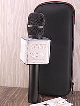 Микрофон для караоке Q9 Black Колонка , фото 3