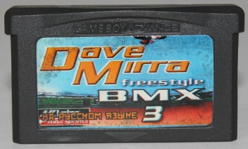 "Картридж на GBA ""Dave Mirra freestyle BMX3"""