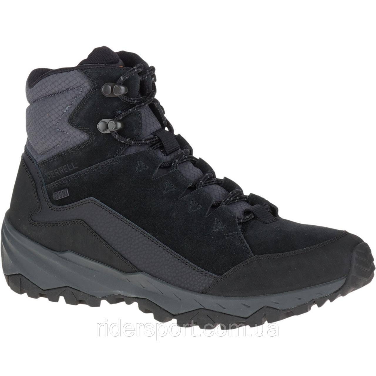 43b38b23 Ботинки мужские MERRELL Mid Polar Wp J95049 Black: продажа, цена в ...