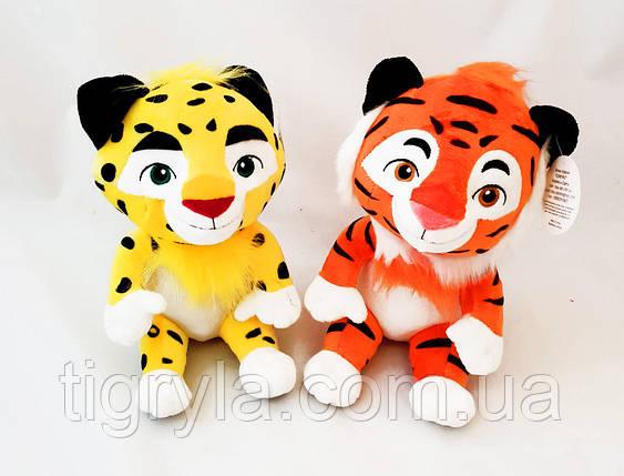 Музичні м'які іграшки Лео і Тиг, фото 2