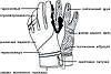 Рукавиці лижні PowerPlay 6942 Чорні L (Універсальні зимові), фото 4