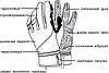 Рукавиці лижні PowerPlay 6942 Чорні XL (Універсальні зимові), фото 4