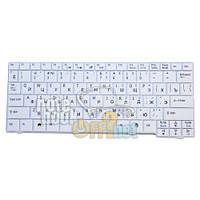 Клавиатура для ноутбука Acer Aspire One A110, A150, D250 и 531. Белая. Linux