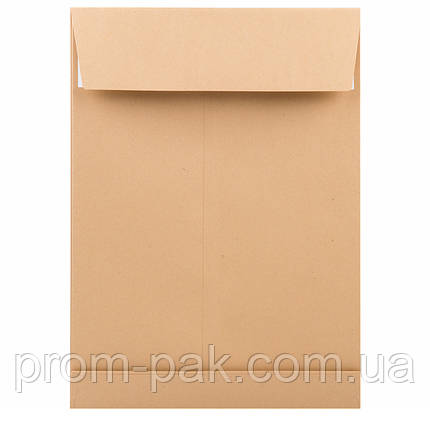 Конверт из крафт бумаги  С4 ОЛ двойное дно, фото 2