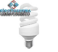 Лампа энергосберегающая S 9Вт 4200К Е27 Евросвет, Энергосберегающие лампы 9Вт