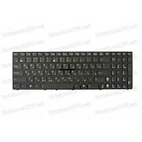 Клавиатура для ноутбука Asus A52, A53, G60, K52, K53, K72, N52, N53, X52 (с фреймом)