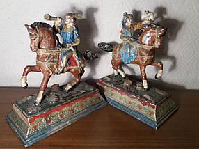 Статуетки Гуцули на конях кін.19 віку