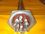 """Блок тэн 6.0 кВт./2.0"""" дюйма/ L-400 мм. медный ( хромированный ) производство БМЗ Украина, фото 2"""