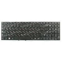 Клавиатура для ноутбука Samsung NP300E5A, NP300V5A черная (без фрейма)