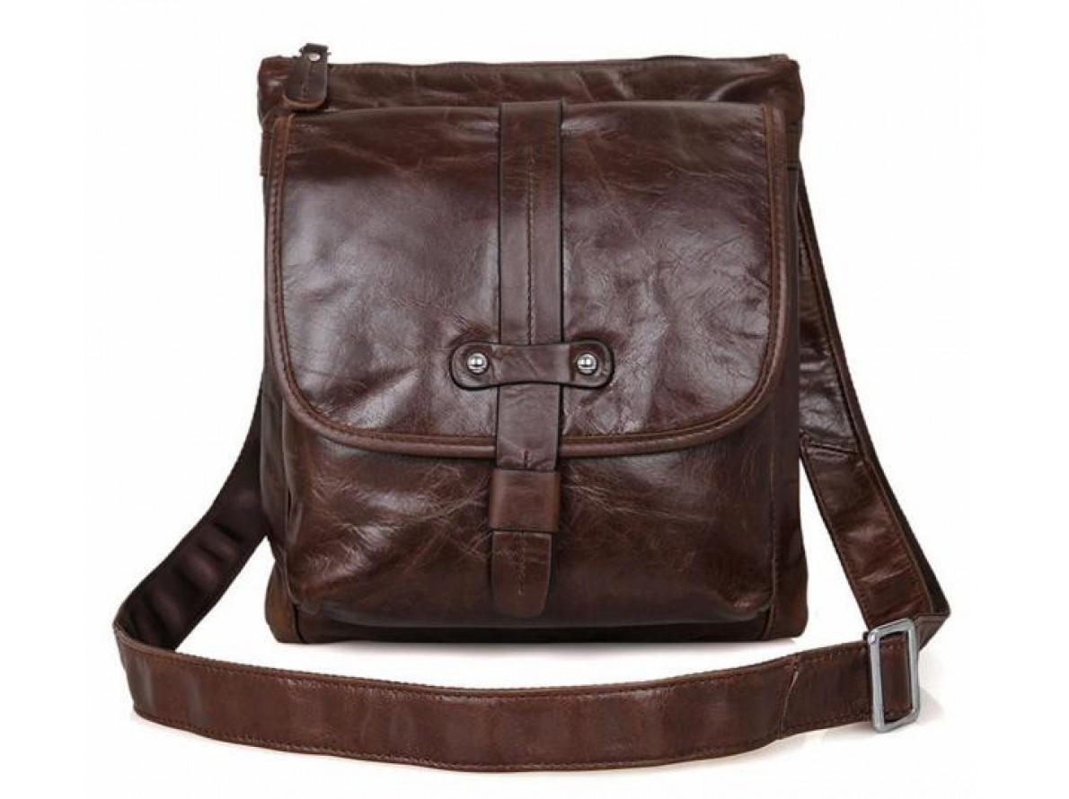 70dbd18cc034 Купить сейчас - Мужская кожаная сумка через плечо J&М Q5407 ...
