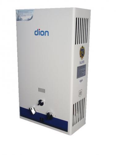 Газовая колонка Дион JSD 08 белая-голубая (комфорт)