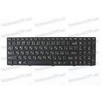 Клавиатура для ноутбука Lenovo G570, G575, G770, G780, Z560, Z565 (black frame)