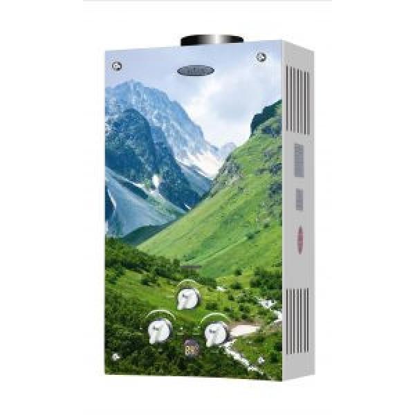 Газовая колонка Дион JSD 10 дисплей горы
