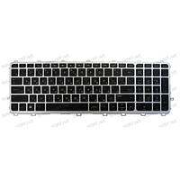 Клавиатура для ноутбука HP Envy 15-J, 15T-J, 15Z-J, 17-J, 17T-J series (silver frame backlight)