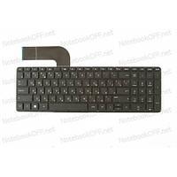 Клавиатура для ноутбука HP Pavilion 15-P, 15Z-P, 17-F series (black, без рамки)