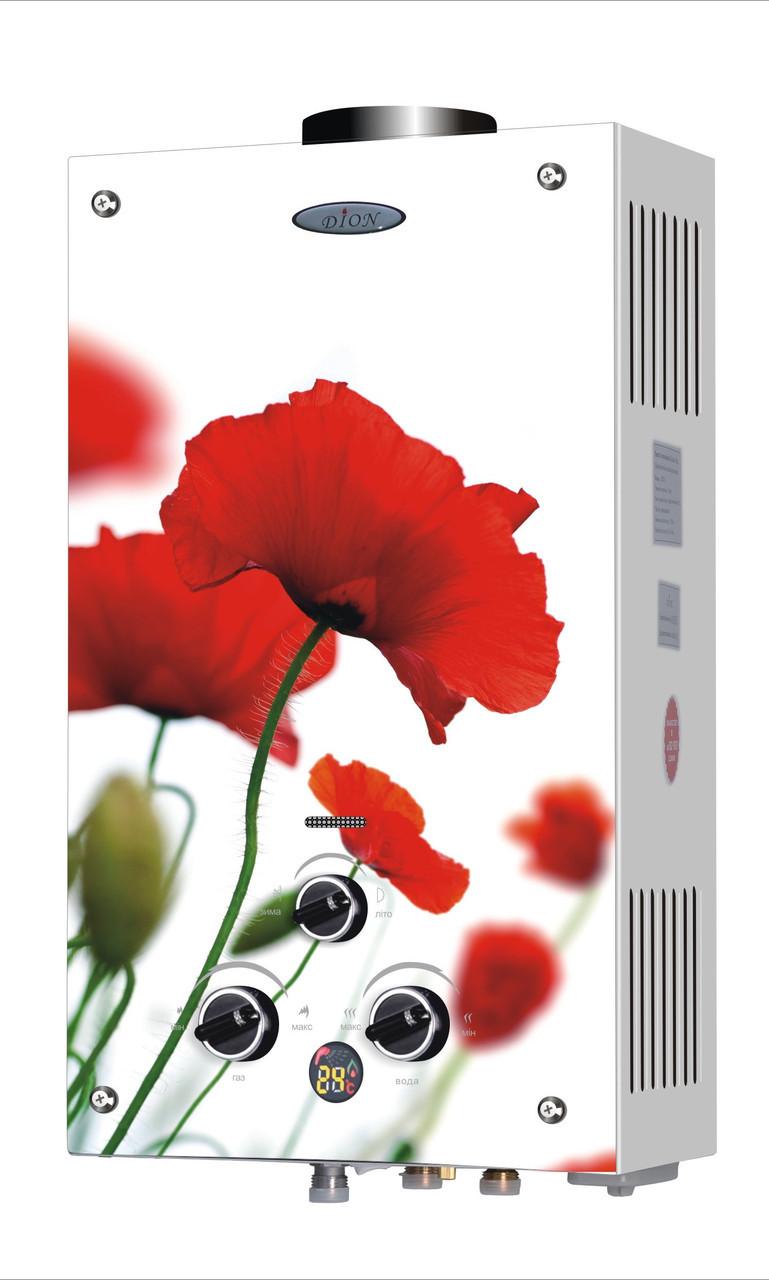 Газовая колонка Дион JSD 10 дисплей маки