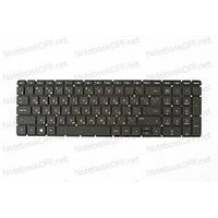 Клавиатура для ноутбука HP Pavilion 15-ac,15-af, 15-ba, 17-ac, 17-x, 17-y, HP 250 G4, 255 G4, 250 G5, 255 G5, 15-b 813974-251, 856698-251 (black, без