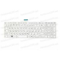 Клавиатура для ноутбука Toshiba Satellite C850, C870 (white frame)