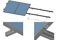 Комплект креплений на скатную крышу для 4 солнечных батарей