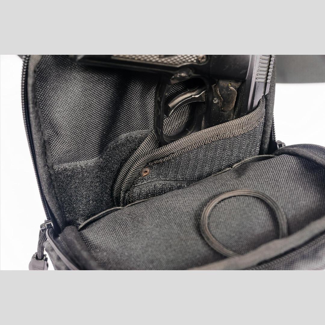 Сумка - органайзер для спец.служб (с кобурой), 2 кармана, фото 6