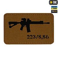 Патч M-Tac AR-15 Laser Cut Black/Coyote