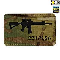 Патч M-Tac AR-15 Laser Cut Black/Multicam