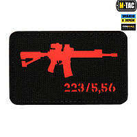 Патч M-Tac AR-15 Laser Cut Red/Black