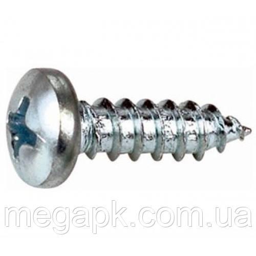 Саморіз 5,5*13мм по металу, закруглена циліндрична голова