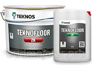 Фарба TEKNOS TEKNOFLOOR 2K для бетону, 4,5 л