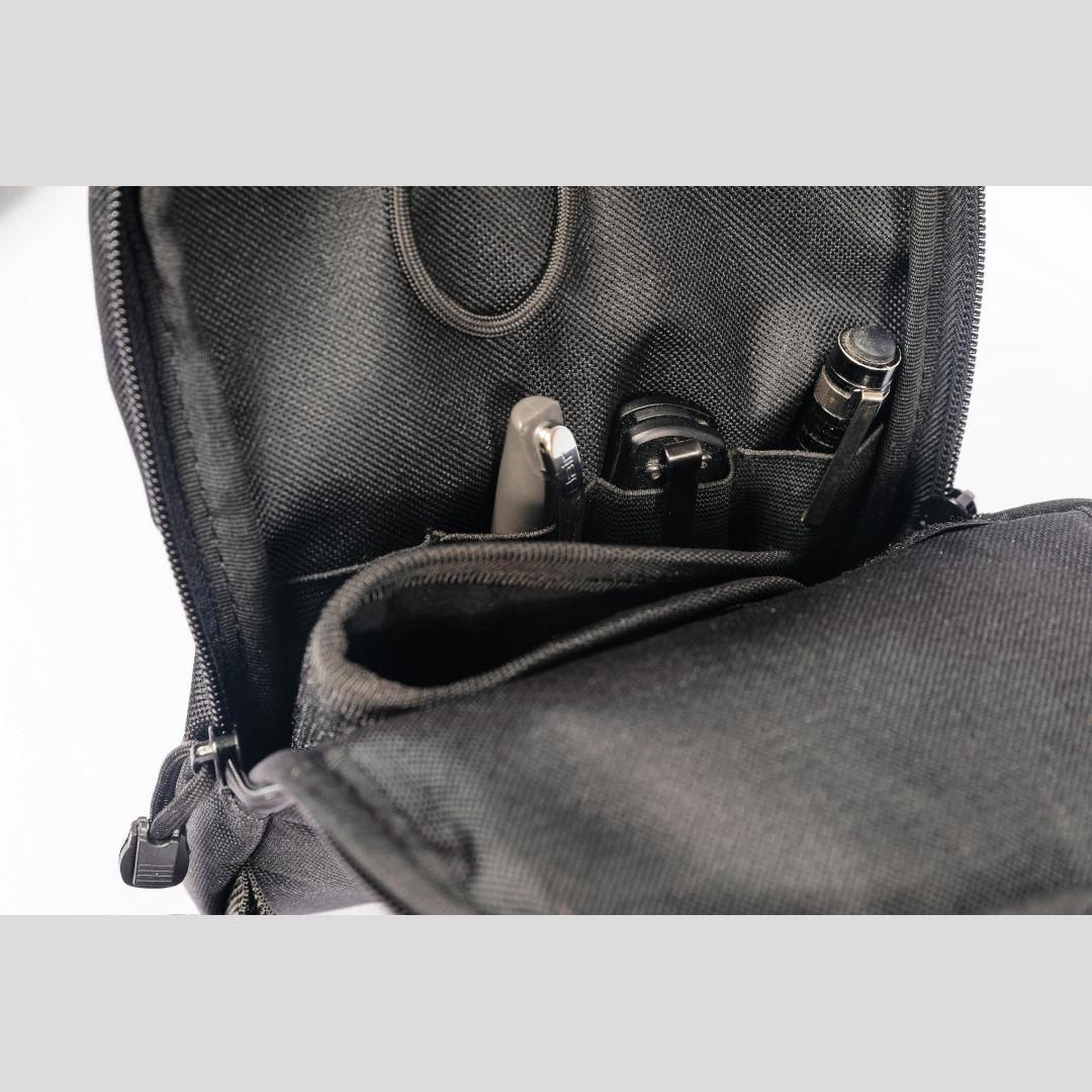 Сумка - органайзер для документов (CORDURA®), 3 кармана, фото 5
