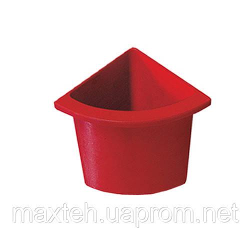 Разделитель урны для мусора Аквалба красный