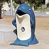 Урна уличная Дельфин 85л, фото 3