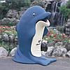Урна уличная Дельфин 85л, фото 4