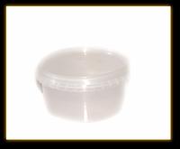 Контейнер с крышкой пластиковый 0,5 л., 1шт/ 100 шт
