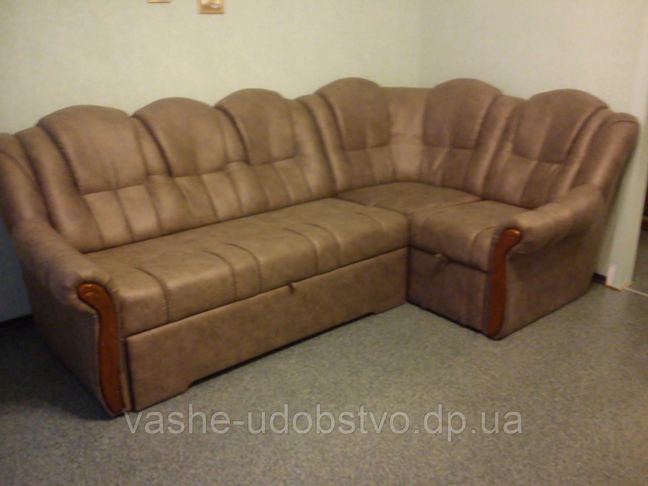 Ремонт углового дивана.