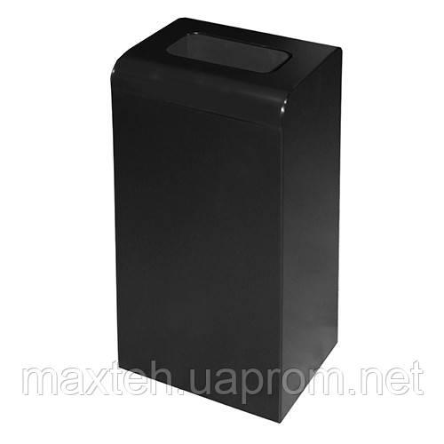 Урна для мусора 47л Линия-С черная
