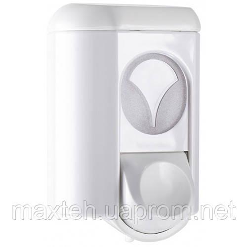Дозатор жидкого мыла 0,35 л Аквалба белый