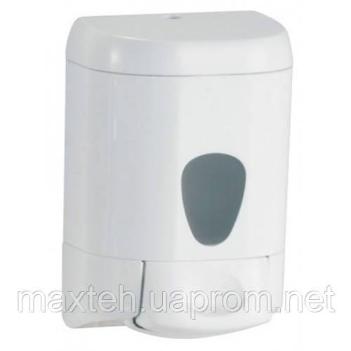 Дозатор жидкого мыла 0,55 л Престиж белый