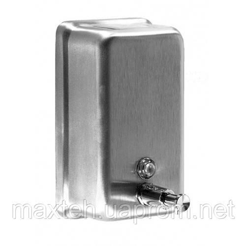 Дозатор жидкого мыла 1,1 л сатинова нержавейка