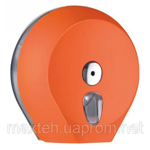Диспенсер Колор для туалетной бумаги Джамбо оранж