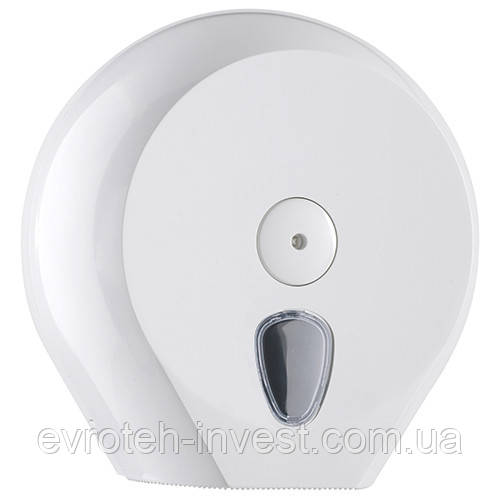 Диспенсер Плюс для туалетной бумаги Джамбо белый